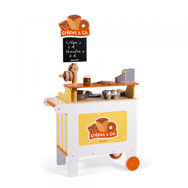 Verkaufsstand Crepes & Co (Holz)